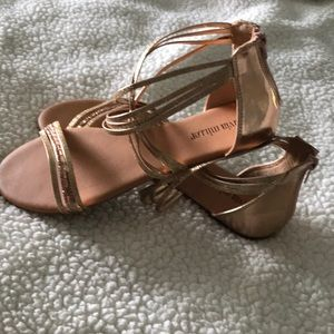 Bling sandals size 7.5
